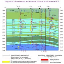 Геохимические исследования в скважинах