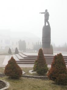 А это Ленин в Калуге