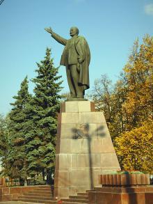 Ленин в Рязане.